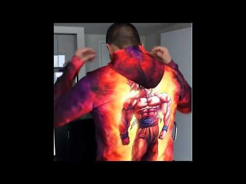 Dragon Ball 3D Hoodie