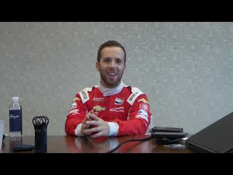 Q&A with IndyCar driver Ed Jones