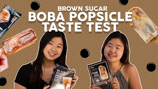 Comparing Brown Sugar Boba Popsicle Brands  (Tiger Sugar vs Xiao Mei)