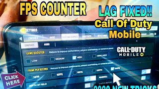 How To Unlock 60 fps in Call Of Duty Mobile | cod mobile 60 fps unlock