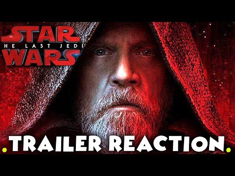 Star Wars The Last Jedi - Official Trailer #2 LIVE REACTION & COMMUNITY DISCUSSION !