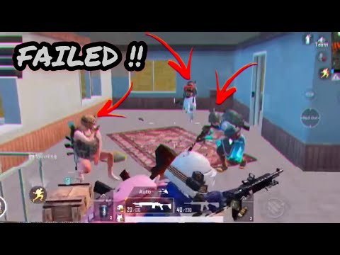 EPIC CLUTCH FAILS AND WTF MOMENTS | PUBG MOBILE