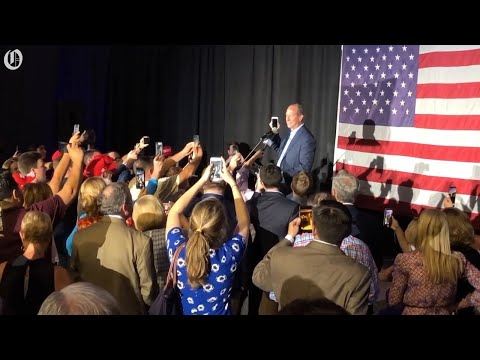 Dan Bishop takes congratulatory call from President Trump after winning N.C. 9th District