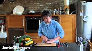 Jamie Oliver on knife skills - 30-Minute Meals