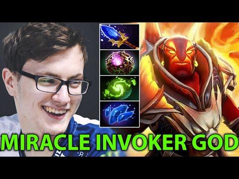 Miracle- The Invoker GOD vs Ember Spirit LVL 30 Epic Battle Of The Titans Pro Gameplay Dota 2