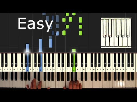 Somewhere Over The Rainbow - Piano Tutorial Easy (Israel) - How To Play (Synthesia) Mp3
