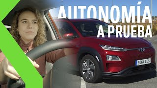 ¡¡396 km de viaje con solo 394 km de autonomía!! 😱 RETO AUTONOMÍA COCHE ELÉCTRICO