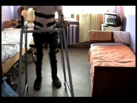Аппараты на обе нижние конечности с корсетом