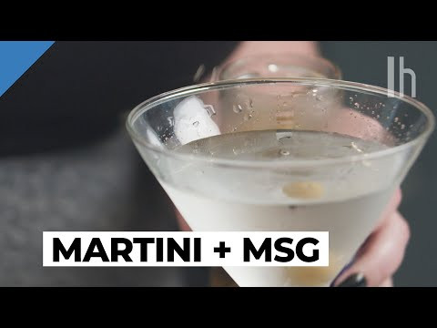 Make An Absolutely Filthy Martini With MSG