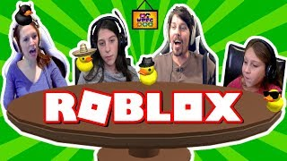 ROBLOX BREAKING POINT WITH FUNNY MOMENTS DUCK-DUCK-GOOSE? | WPFG FAMILY GAME NIGHT
