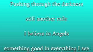 I Have a Dream - Amanda Seyfried (Lyrics)