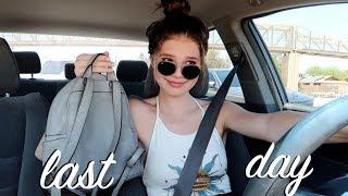 Last Day of School Vlog!!