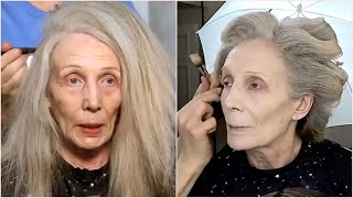 20 years younger 😳 Most Amazing Makeup Transformations 💖 Mature Skin Makeup Compilations