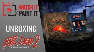 Evil Dead 2 : The Board Game - Unboxing