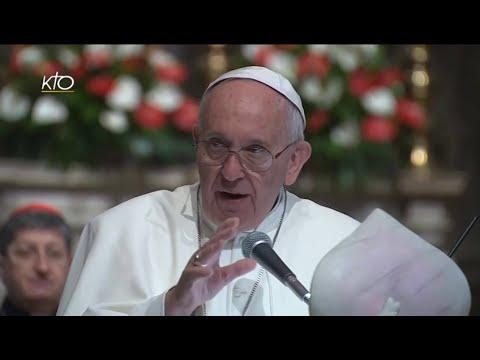 Le Pape rencontre les participants du Congrès ecclésial national italien