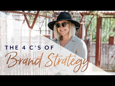 The 4C's: My Framework for a Brilliant Brand