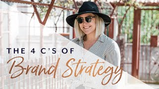 The 4 C's of Brand Strategy