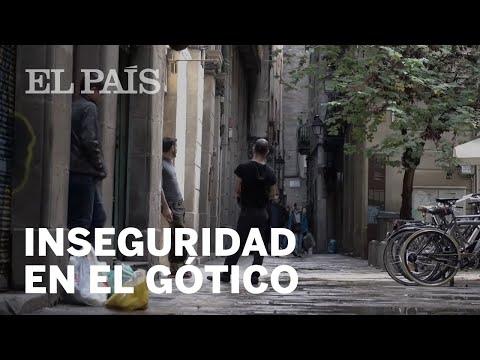 El deterioro del barrio Gótico de Barcelona