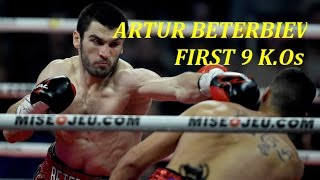 Legendary Boxing Highlights: Artur Beterbiev first 9 K.Os