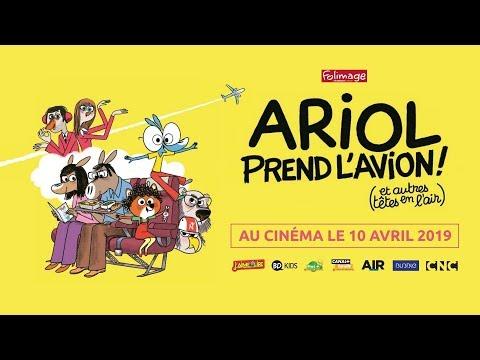 ARIOL PREND L'AVION (et autres têtes en l'air) | Bande annonce | Au cinéma le 10 avril 2019