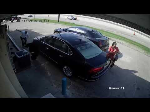 Нападение на женщину, перевозившую 75000$