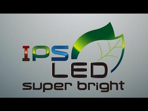 Panasonic HD Demo: IPS, LED, Super Bright