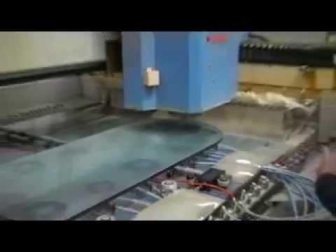 lavorazione bordo vetro