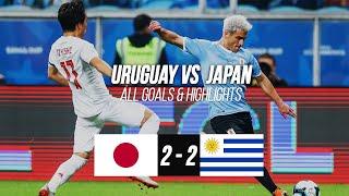 URUGUAY Vs JAPAN: Copa America 2019 Extended Highlights (ALL GOALS)