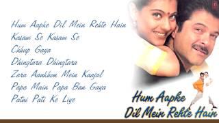 """Hum Aapke Dil Mein Rehte Hain"" Movie Full Songs | Anil"