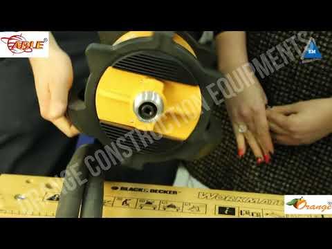 Orange X-Man High Frequency Concrete Vibrator