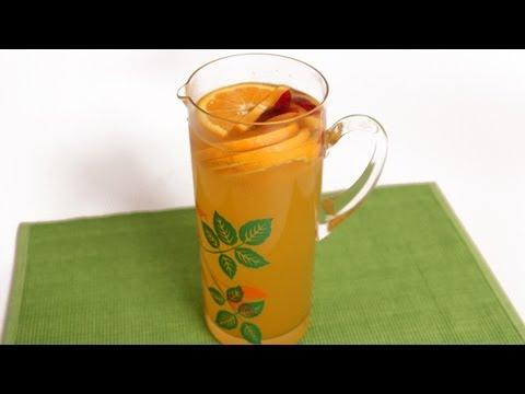Peach Sangria Recipe – Laura Vitale – Laura in the Kitchen Episode 591