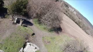 Old Dalquharran castle with Lord jimmy FPV iflight nazgul 5 v2 runcam 5 orange