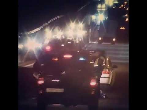 Пьяный за рулем УАЗ Патриот, врезался в полицейских на трассе Воронеж-Тамбов