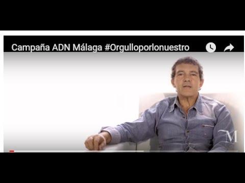 Antonio Banderas y Pablo Alborán, en la nueva campaña promocional de Málaga