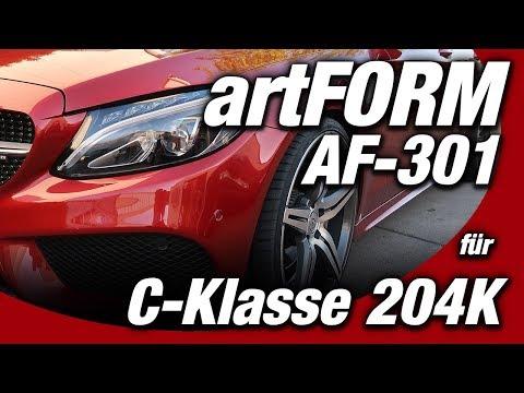 Bildschöne 20Zoll Felgen | artFORM AF-301 | Mercedes C-Klasse S205 / 204K | WEST-BERLIN-CUSTOMS