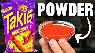 Making Takis Powder From Scratch