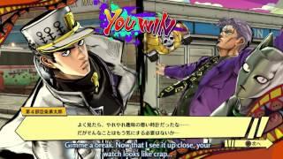 jojo s bizarre adventure eyes of heaven jotaro part 4 gameplay