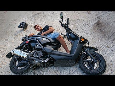 SOFRI UM ACIDENTE DE MOTO! *de verdade*