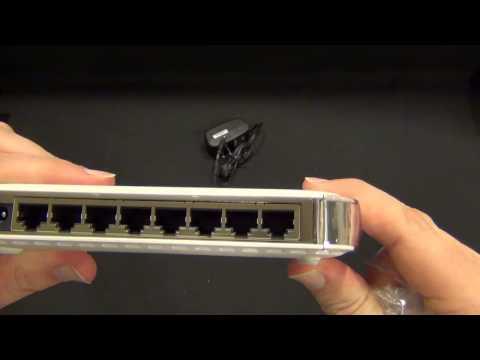 NETGEAR 8 Port Gigabit Ethernet Switch GS608 – TimmyTechTV