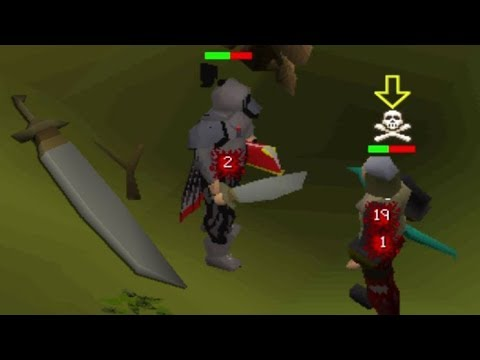 NEW Granite Longsword Pure PKing (50 Combat)