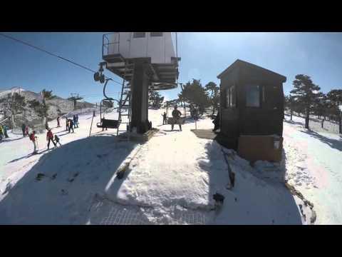 Esquí en Navacerrada, Madrid