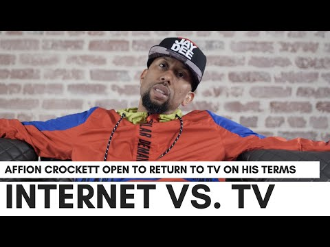 , title : 'Affion Crockett On 'Internet Vs. TV Business'