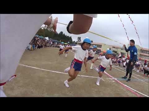 笠間 友部 ともべ幼稚園 子育て情報「運動会 年長個人競技」