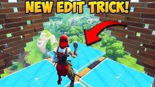 *NEW* INSANE EDITING TRICK! - Fortnite Funny Fails and WTF Moments! #366