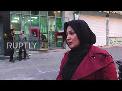 Iran: Petrol stations and banks set ablaze as fuel price protests continue