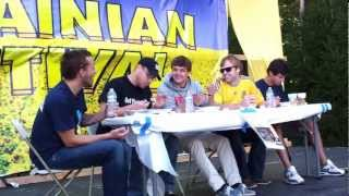 preview picture of video 'Perohy Eating Contest, Ukrainian, Whippany, NJ, 2012'
