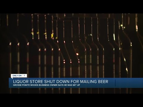 Liquor store shut down for mailing beer in-state
