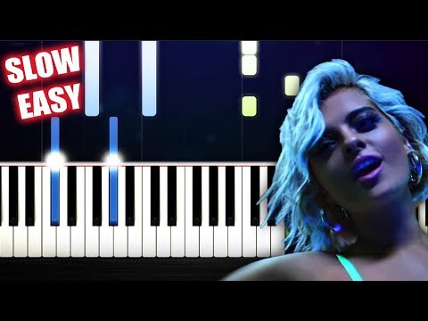David Guetta, Bebe Rexha & J Balvin - Say My Name - SLOW EASY Piano Tutorial by PlutaX