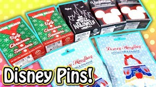 Disney Trading Pins Surprise Blind Boxes & Blind Bags - Event Exclusives & Limited