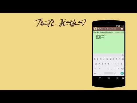 Video of Text Memo